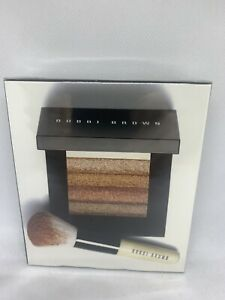 Bobbi Brown Bronze Shimmer Brick Set: Bronze Shimmer Brick Compact + Mini 2pcs