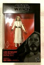 "Hasbro STAR WARS Black Series 3.75"" inch LUKE SKYWALKER (Jedi Master)"