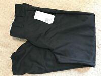Mens Adidas Baseball Pants Black Climalite 100% Polyester