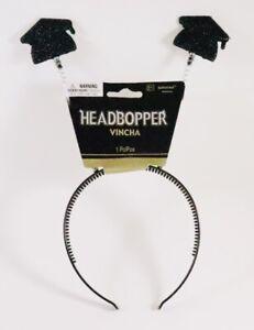 Graduation Headband Headbopper Party Prop Grad Caps Spring Decoration Celebrate