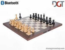 DGT BLUETOOTH Rosewood eBoard with CLASSIC pieces - Electronic chess - sensory