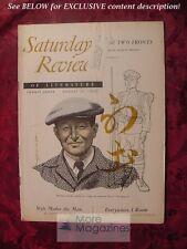 Saturday Review August 12 1950 HANAMA TASAKI ANTONIO IGLESIAS JOHN MASON BROWN