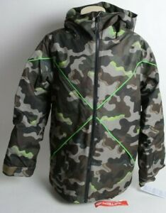 2021 NWT YOUTH VOLCOM X INSULATED JACKET $140 M Army 2 layer standard fit