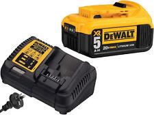 DEWALT XR 18V   DCB115-XE  CHARGER Plus 2 LITHIUM ION BATTERIERS  DCB205 dcb115