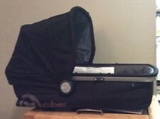 NEW IN Open BOX Cybex Callisto Infant Carry Cot Eclipse- Black/Grey