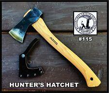 Wetterlings Hunter's Hatchet #115 - blade hardness 57- 58 HRC, made in Sweden