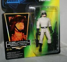 1997 Star Wars AT-ST DRIVER Green International Card Collection 3 Action Figure