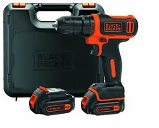Visseuse sans fil Black & Decker BDCDD12KB-QW - avec 2 Batteries 10,8 V