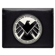 NEW OFFICIAL MARVEL AVENGERS AGENTS OF SHIELD PHIL COULSON BADGE ID CARD WALLET