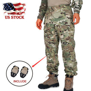 KRYDEX G3 Combat Trouser with Knee Pads Tactical Pants Clothing Camo Multicam