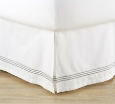 New Pottery Barn Grand Organic Percale Cal-king Bed Skirt