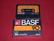 VINTAGE  1 AUDIO CASSETTA  BASF LH SM 90  ( ANNI '70 )