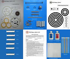1975 Williams Pat Hand Pinball Deluxe Tune-up Kit - Includes Rubber Ring Kit