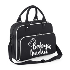Personalised Name Baby Bag Baby Changing bag Personalised Mum Bag Pram