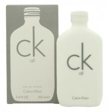 CALVIN KLEIN CK ALL EAU DE TOILETTE 100ML SPRAY. NEW. FREE SHIPPING