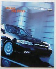 NISSAN ALTIMA 2000 dealer brochure - English - Canada - ST1002000918