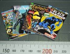 1/6 scale Four Custom Black Panther Comics for your Action Figures