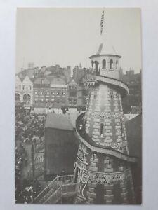 Nottingham Goose Fair 1914, Slip, Helter Skelter, Sideshow, Modern Postcard.