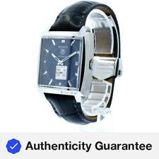 TAG HEUER Monaco calibre 6 Automático De Acero Inoxidable Reloj con Cuadrante Azul Ref: WW2111