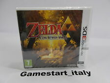 THE LEGEND OF ZELDA A LINK BETWEEN WORLDS - NINTENDO 3DS - NUOVO NEW