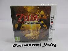 THE LEGEND OF ZELDA A LINK BETWEEN WORLDS - NINTENDO 3DS - NUOVO NEW