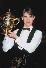 STEPHEN HENDRY HAND SIGNED 12X8 SNOOKER PHOTO PROOF 6.