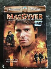 Macgyver Complete First Season One 1 Dvd Box Set