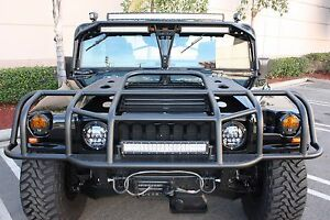 Hummercore Hummer H1 Brush Guard Humvee Brush Guard D-Ring Free Shipping