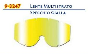 LENTE IRIDIUM SPECCHIO GIALLA OCCHIALI PROGRIP