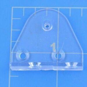 Hunter Douglas Hold Down Bracket Clear Plastic Piece Triangular Replacement Part