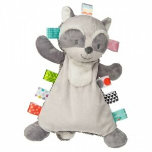 Mary Meyer E1 Forest Baby Girl Boy Taggies 12in Harley Raccoon Lovey Toy 40202