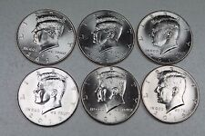 2013 2014 2015  P & D Uncirculated Kennedy Half Dollar Set from Mint Rolls