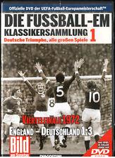 DIE FUSSBALL EM /BILD am Sonntag KLASSIKERSAMMLUNG  Nr.1 Viertelfinale 1972 -DVD