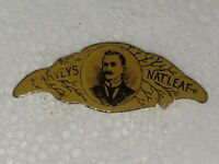 Harvey's Natural Leaf Chewing Tobacco Tag Die Cut Litho vintage