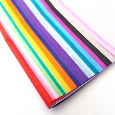 Hsd Carta Velina Multicolore Confezione Fogli Grandi 20 Colori Assortiti 50cm x