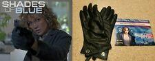 Shades of Blue: Jennifer Lopez JLO Leather Gloves w/COA