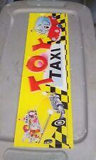 toy taxi arcade crane claw plexi marquee #2