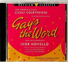 Gays the World -Original London Cast Soundtrack CD -RARE -Ivor Novello