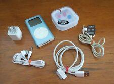 Apple iPod Mini 1st Generation Blue (4 GB) - Model M9436LL