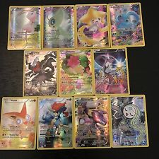Pokemon: Generations Mythical Collection Full Art Holo Promo - 11-Card Set - Nm