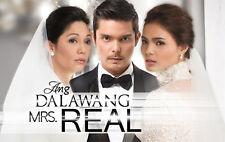 Ang Dalawang Mrs. Real Complete Set Filipino TV Series DVD teleserye