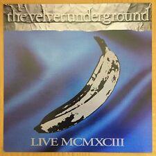 Nos Velvet Underground Live Mcmxciii 2-Sided 12x12 Album Flat 1993 Promo Poster
