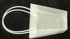 Heavy Duty PVC Clear Party Favor Tote Shopping Bag Gift Stylish Bridal Shower