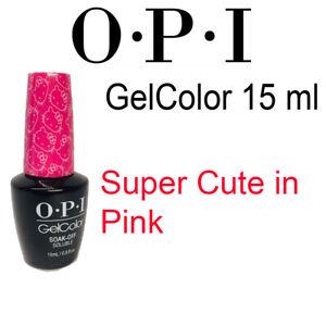 OPI O.P.I GelColor Gel Color Gel Lacquer Soak Off UV LED Gel Polish 15ml 0.5 oz