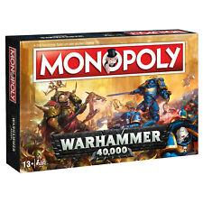 Monopoly Warhammer 40K 40.000 Juego Juego de Mesa Juego de Mesa Rgp Alemán