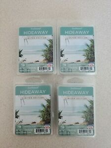 NEW SCENTSATIONALS LIMITED EDITION HIDEAWAY 2.5 OZ WAX MELTS - LOT OF 4 PACKAGES