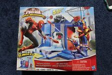 Spider Man Web Warriors Trick Shot Showdown Play Set