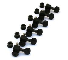 Sperzel Trim-Lok Locking 6 Inline Black Guitar Tuners/Machine Heads TK-7467-013