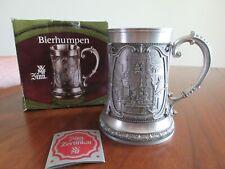 """New listing Vintage Wmf German Zinn Relief Beer Mug/Tankard 5.25"""" Tall"""