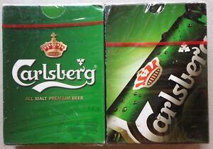 Carlsberg Playing Cards - 2 Packs